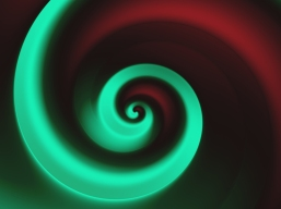 red-green-spiral-wallpaper